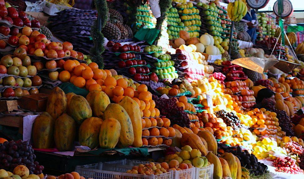 ペルーの砂漠と、南米の果実と①
