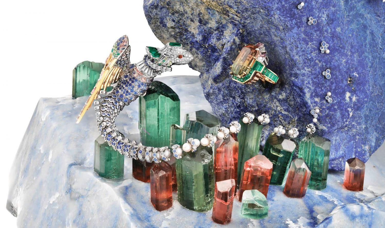 鉱物とジュエリー、 自然科学と美の競演②